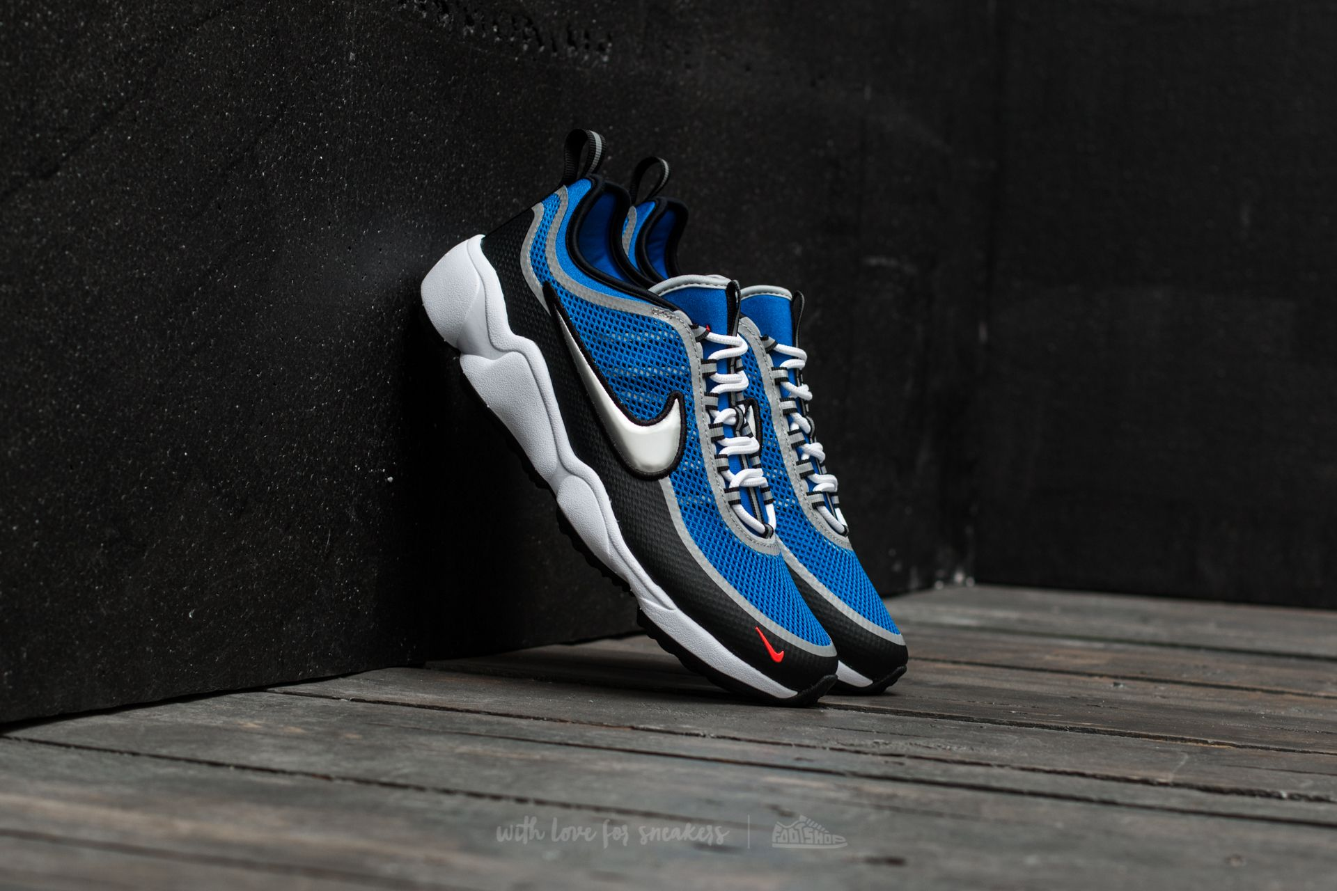 Nike Zoom Spiridon Regal Blue/ Metallic Silver - 16697