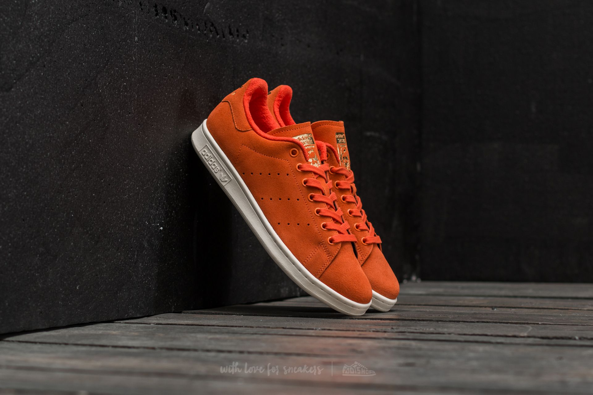 adidas Stan Smith Energy Orange/ Energy Orange/ Matte Gold - 16709