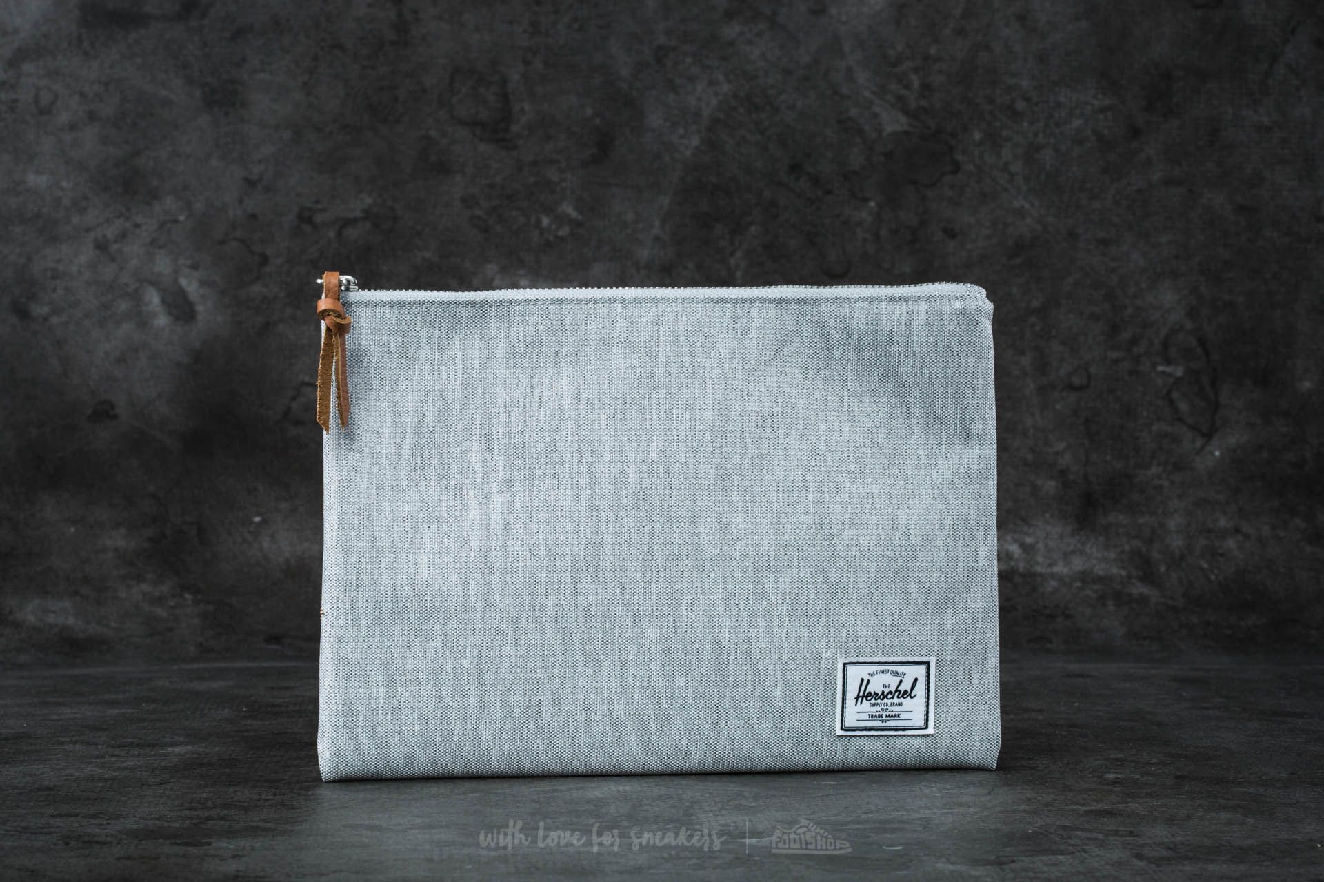 Herschel Supply Co. Network Pouch Light Grey Crosshatch - 16527