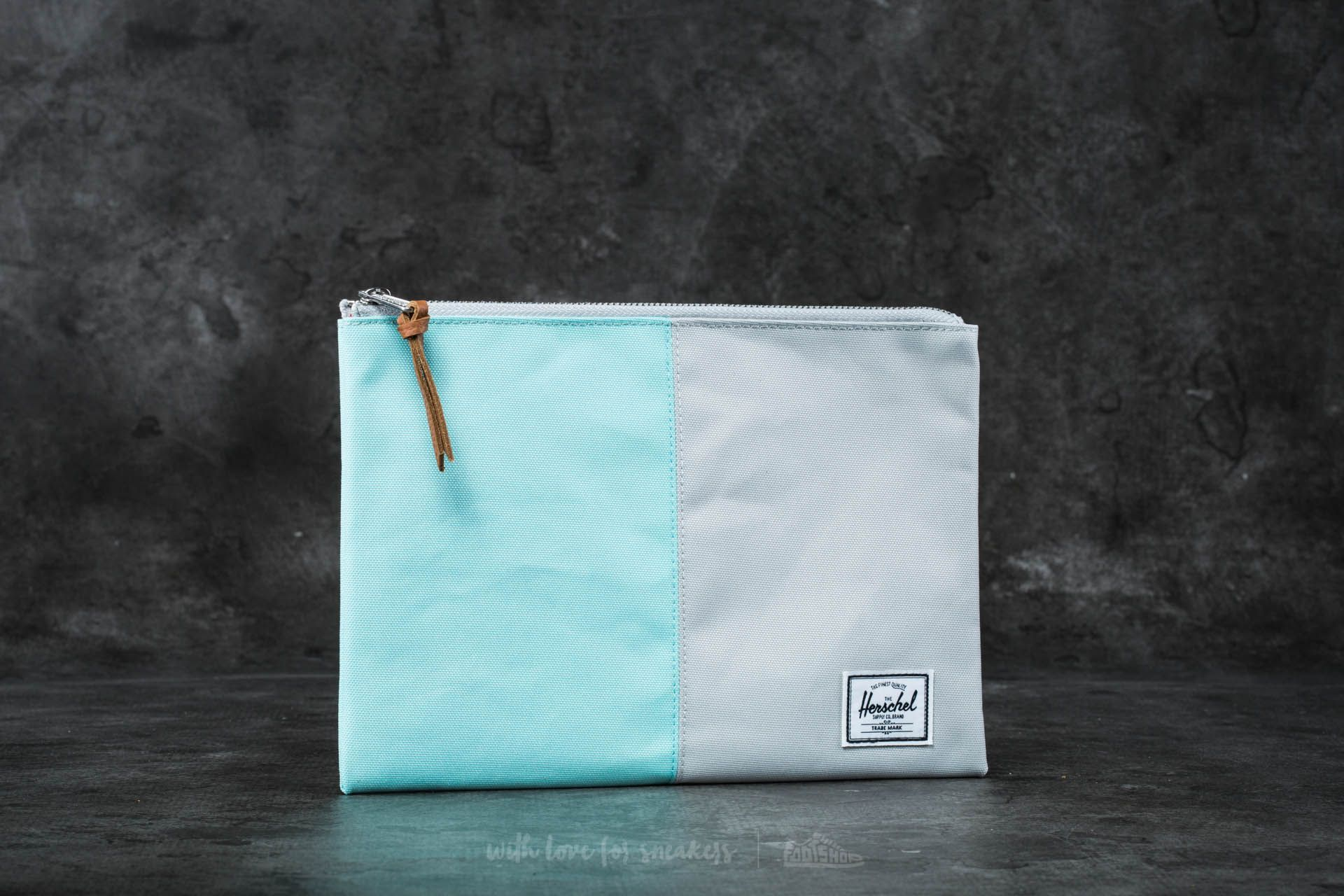 Herschel Supply Co. Network Pouch Blue Tint/ Glacier Grey - 16525