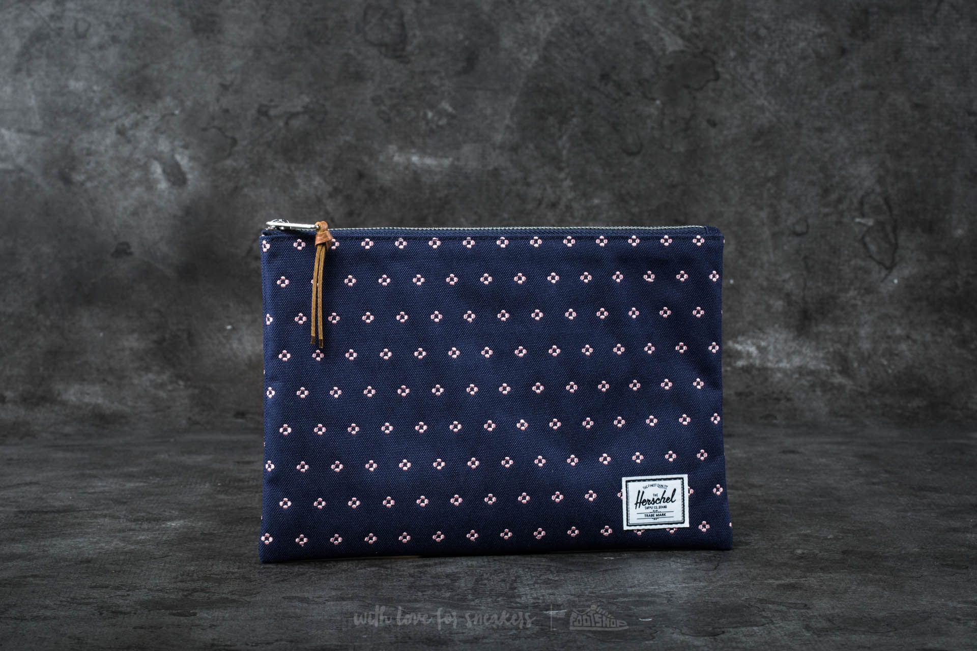 Herschel Supply Co. Network Pouch Peacot/ Apricot Blush Dots - 16569