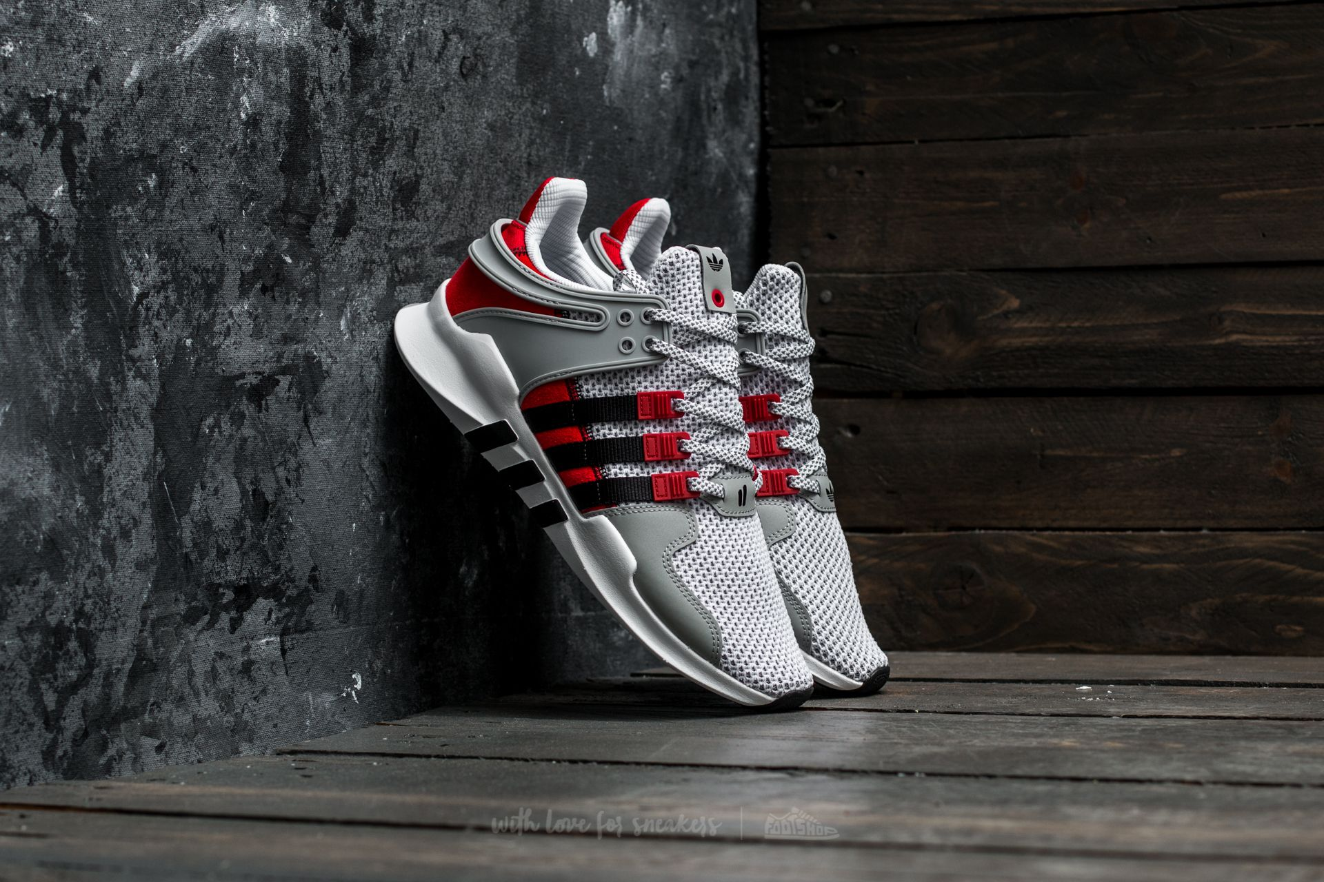 adidas x Consortium x Overkill EQT Support ADV Ftw White/ Core Black/ Clear Onix - 16743