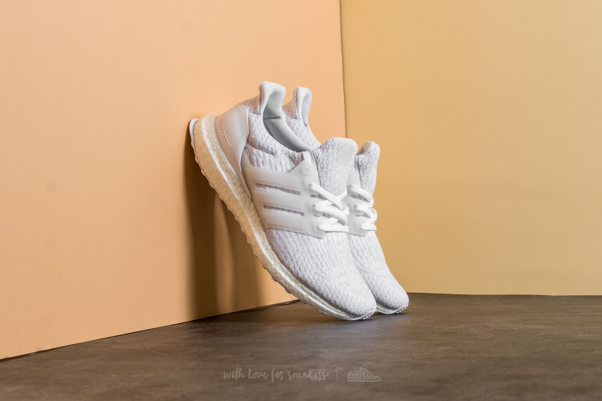 adidas UltraBoost Ftw White/ Crystal White - 16853