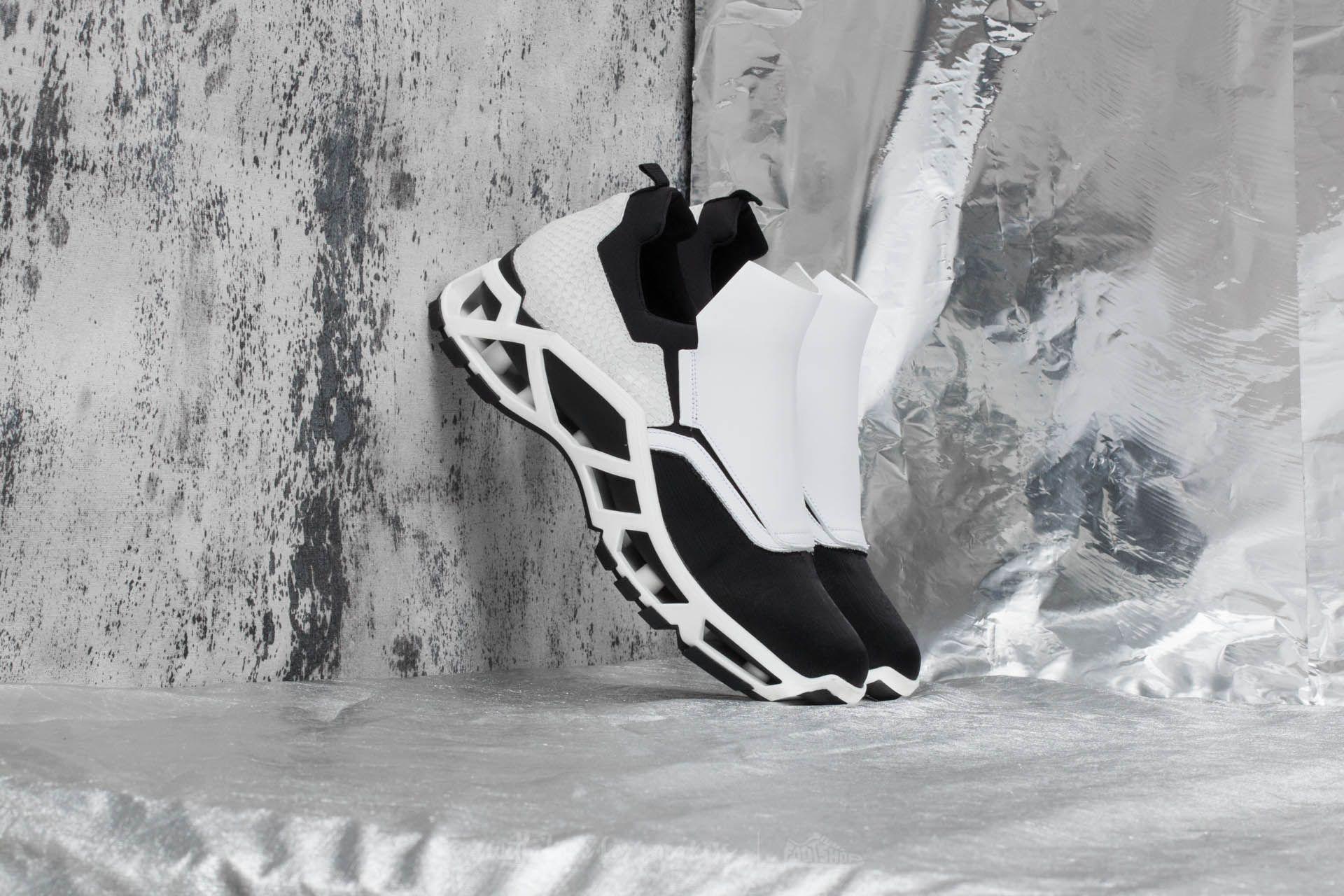 Cinzia Araia B Egitto+ W Calf Blackmoon White/ Black - 17006