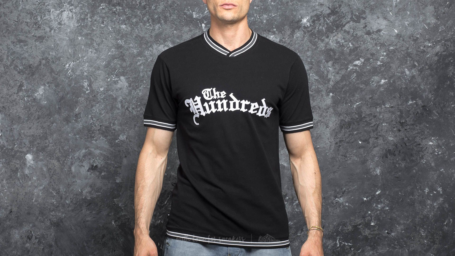 The Hundreds Earvin Shortsleeve Jersey Black - 17042