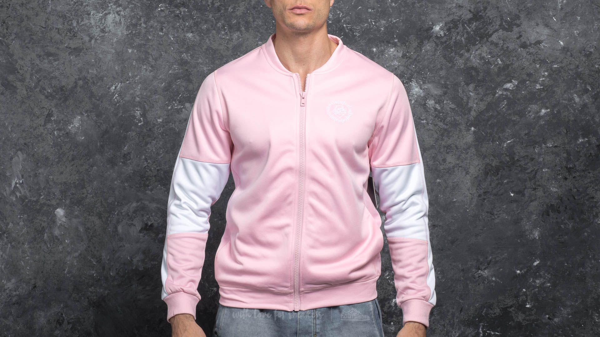 Pink Dolphin Wave Performance Jacket Pink - 17113