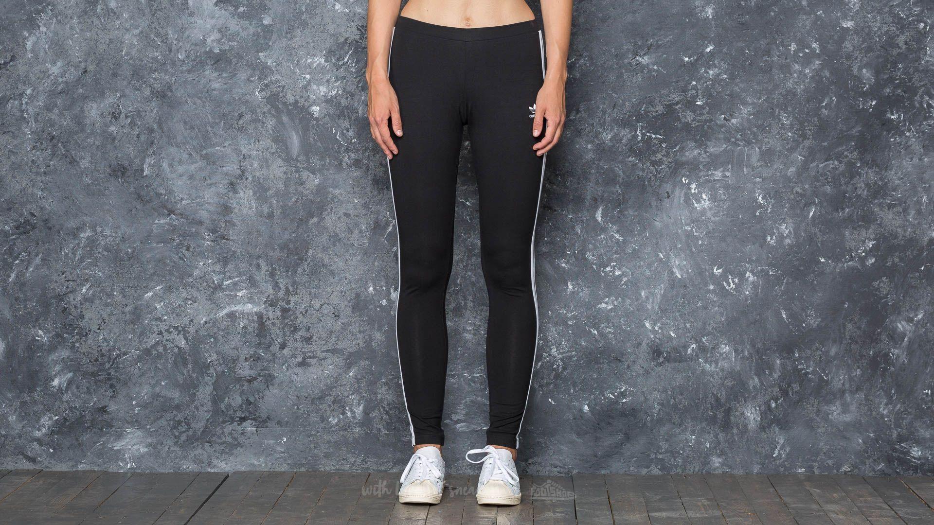 adidas 3 Stripes Leggings Black - 16814