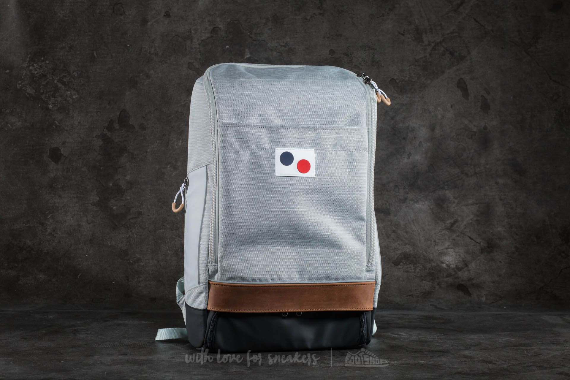 pinqponq Cubik Large Backpack Blended Grey - 17303