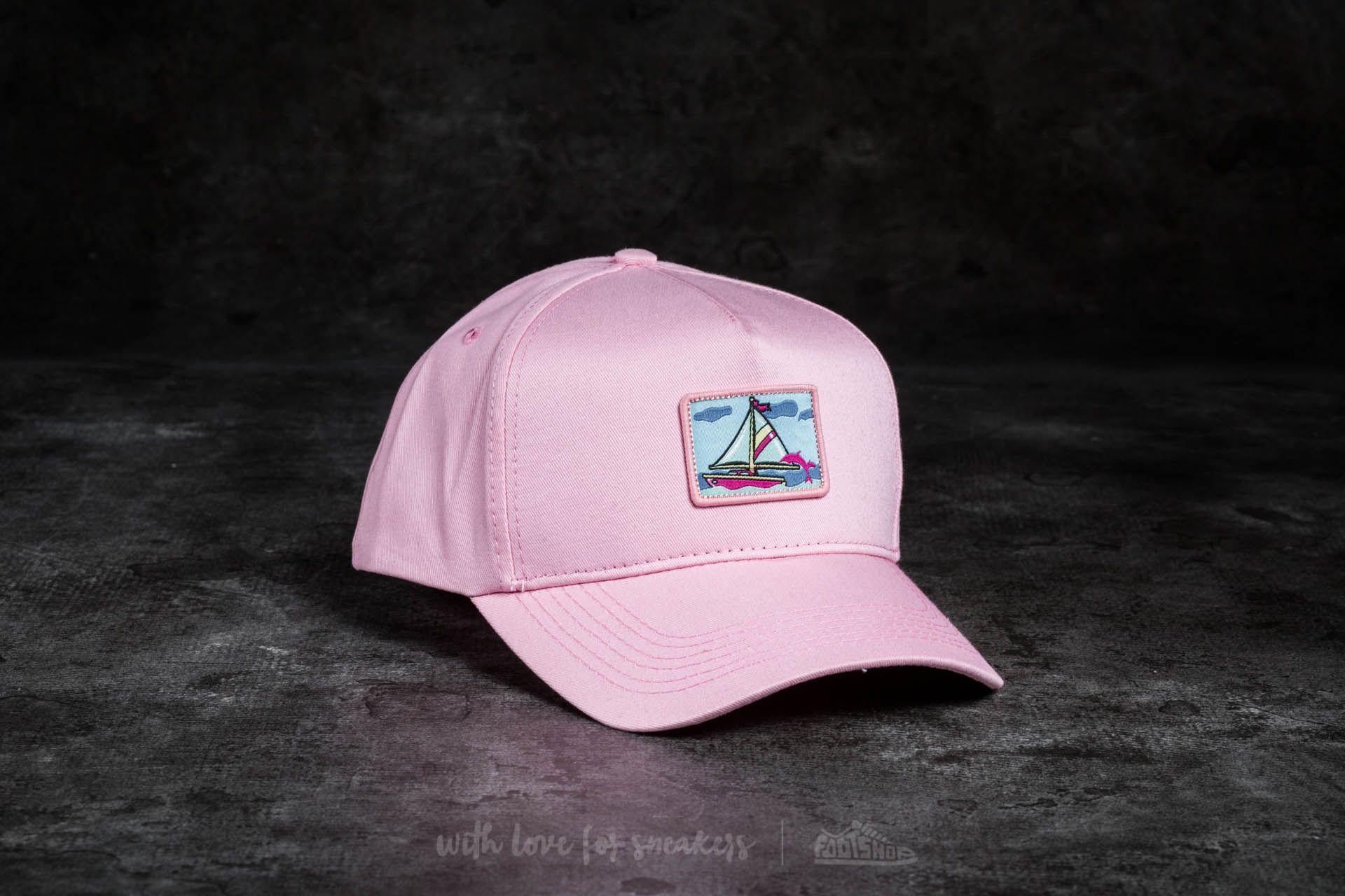 Pink Dolphin Portrait Snapback Pink - 17100