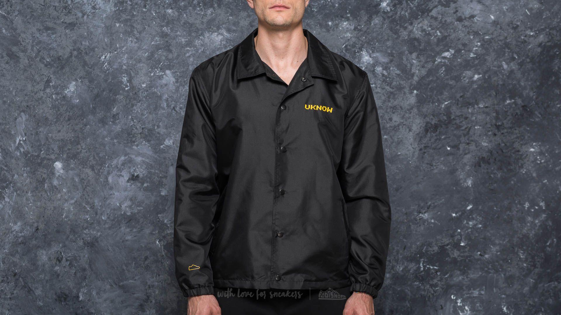 Footshop x UKNOW x M.L Coach Jacket Black - 17149