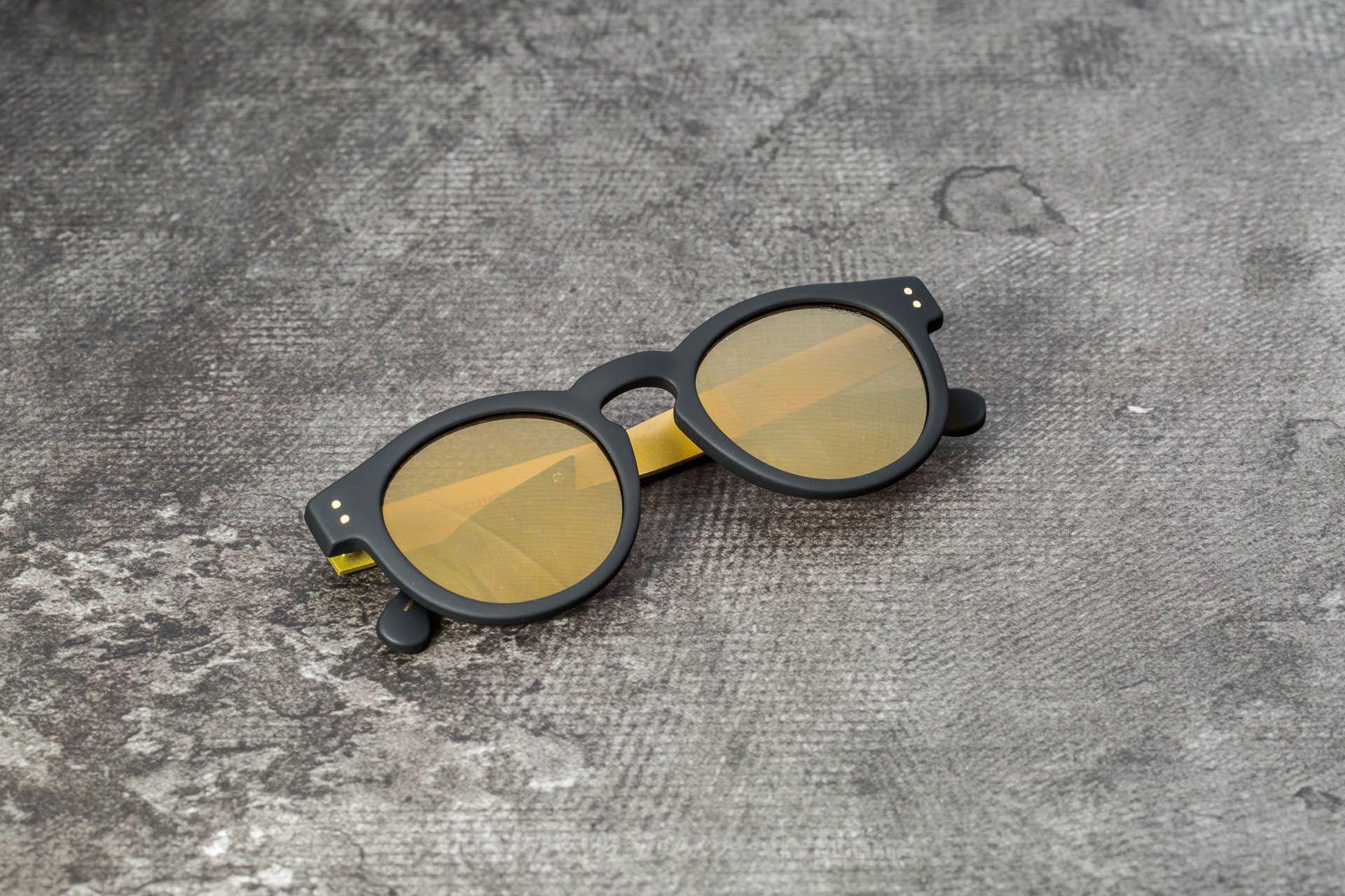 Komono Clement Black Rubber/ Gold - 17095