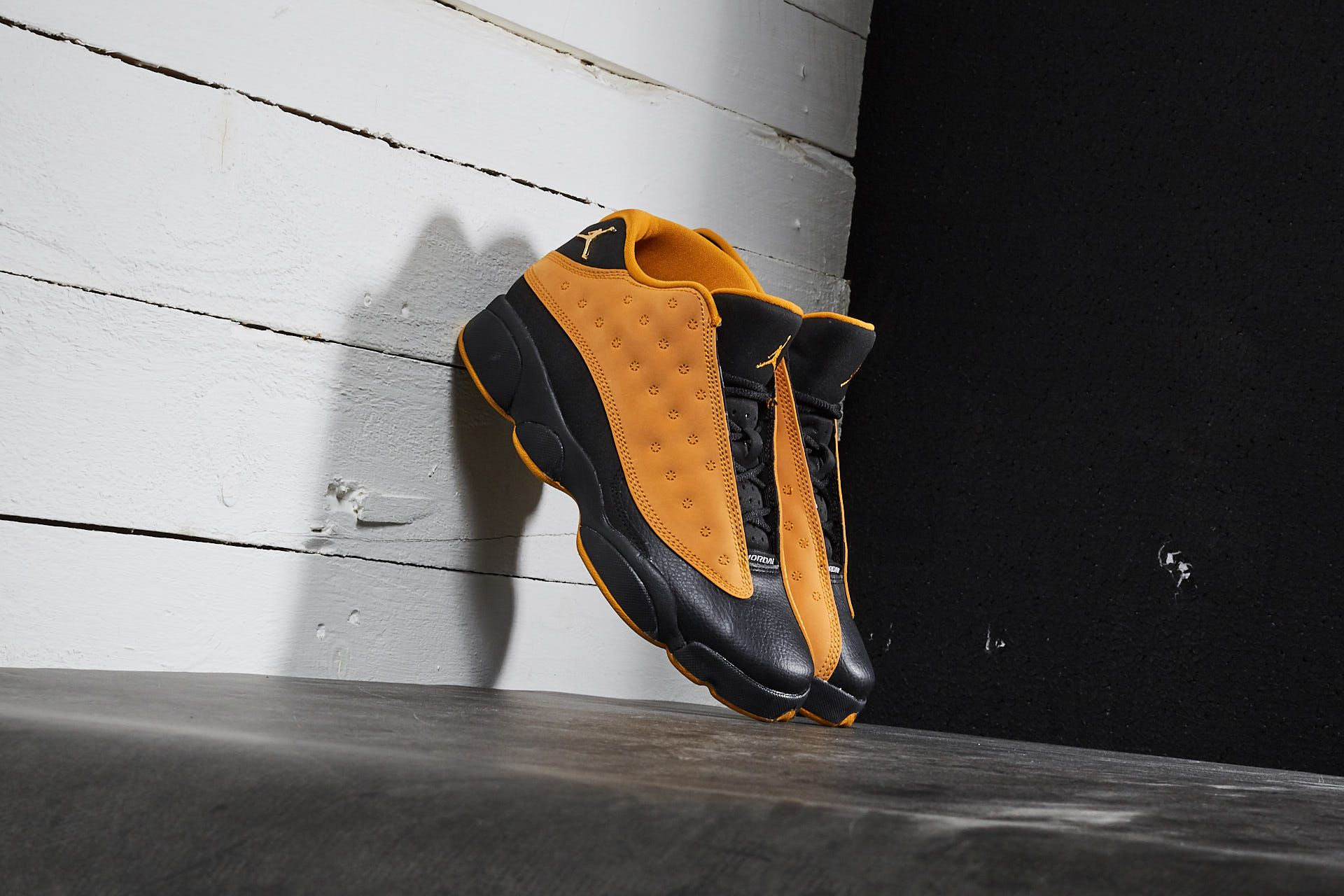 Air Jordan 13 Retro Low BG Black/ Chutney - 17509