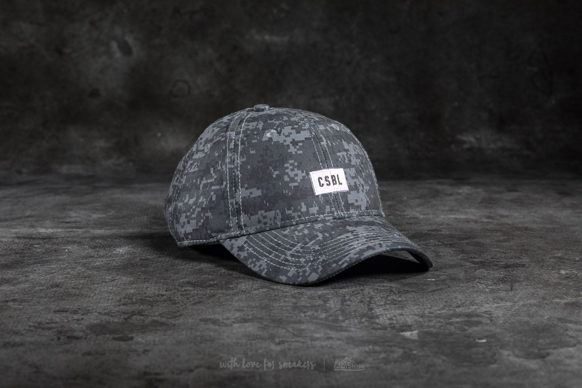 Cayler & Sons CSBL Dig It Curved Cap Black - 17397