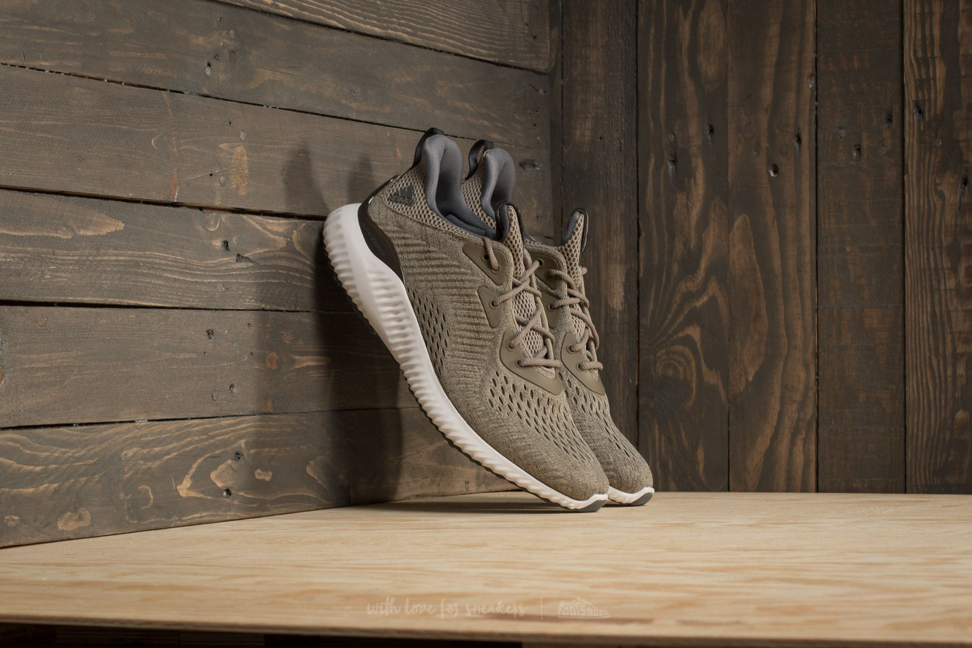 adidas Alphabounce EM M Trace Olive/Trace Cargo/Grey One - 17454