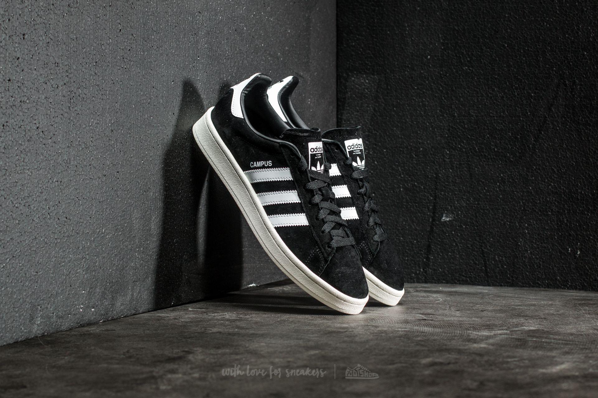 adidas Campus Core Black/ Ftw White/ Chalk White - 17589