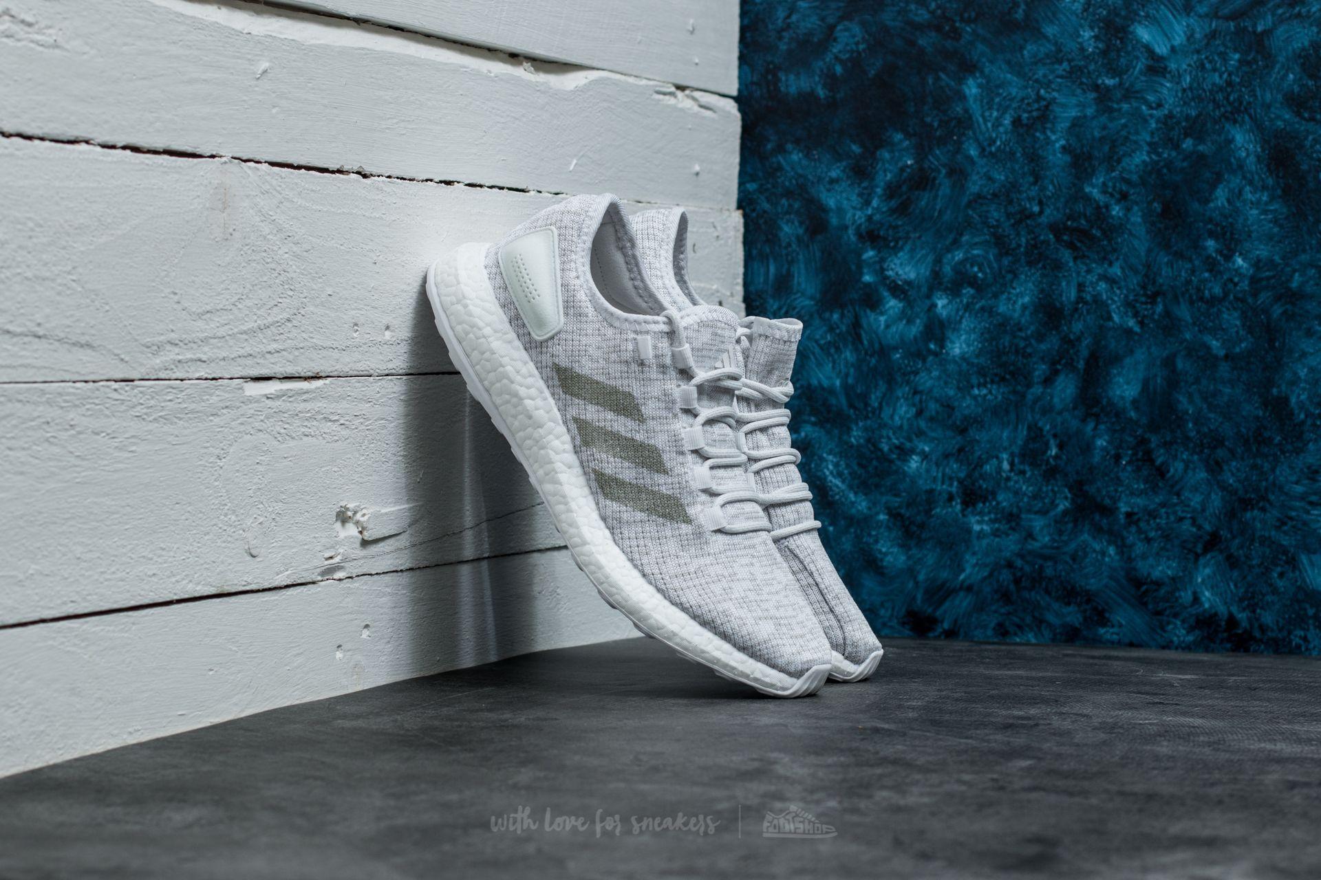 adidas PureBoost Ftw White/ Grey One/ Ftw White - 17708