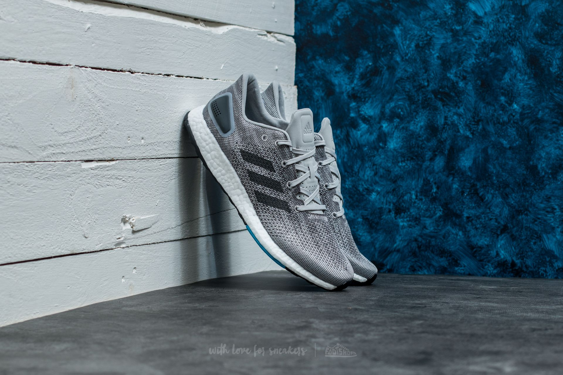 adidas PureBoost DPR Grey Five/ Dgh Solid Grey/ Grey Two - 17711