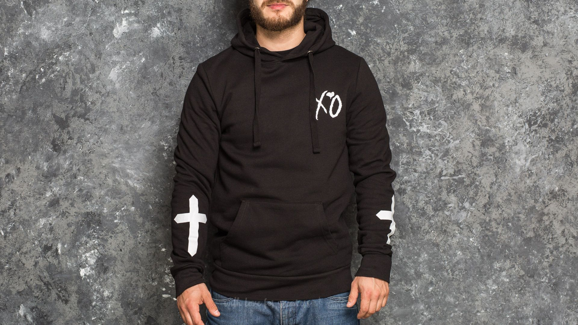 The Weeknd XO Only Hoodie Black - 17513