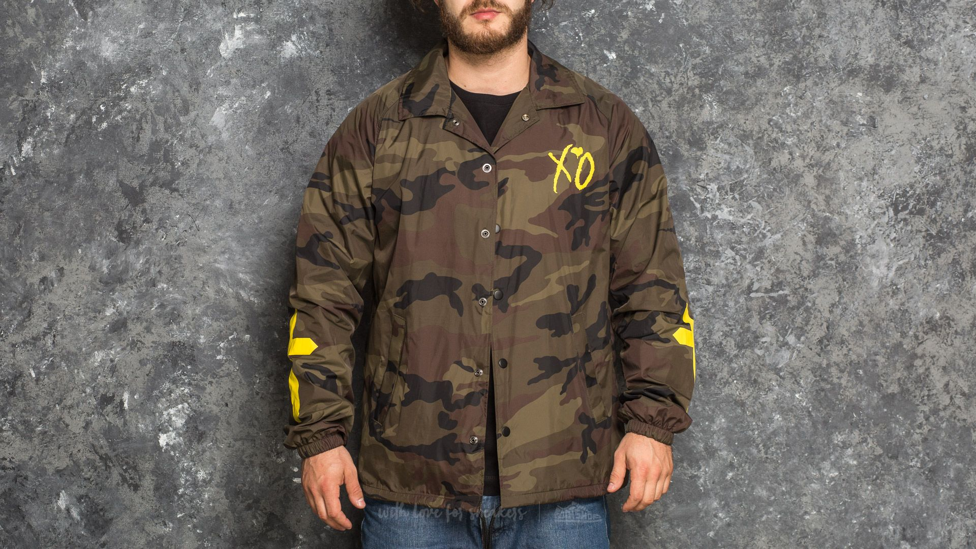 The Weeknd XO Only Coach Jacket Camo - 17517