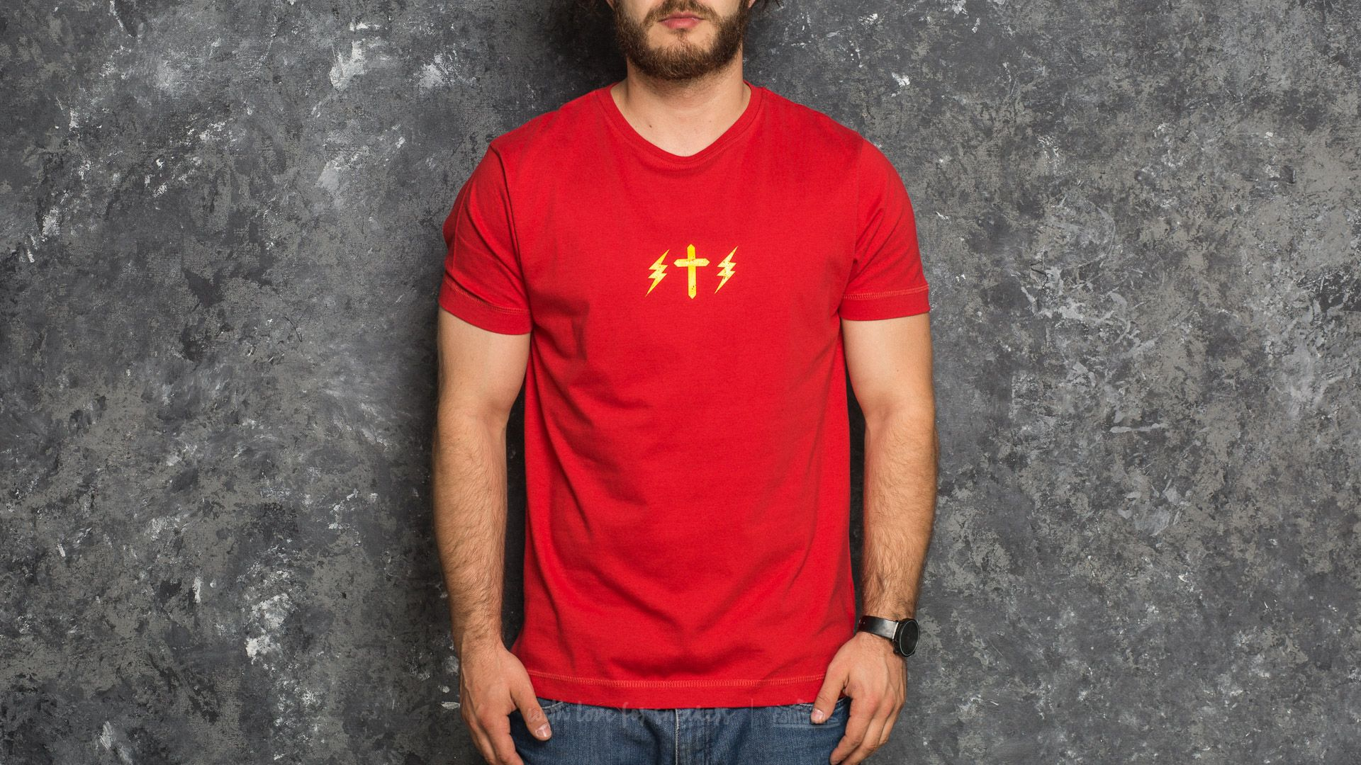 The Weeknd Symbols Shortsleeve Tee Red - 17530