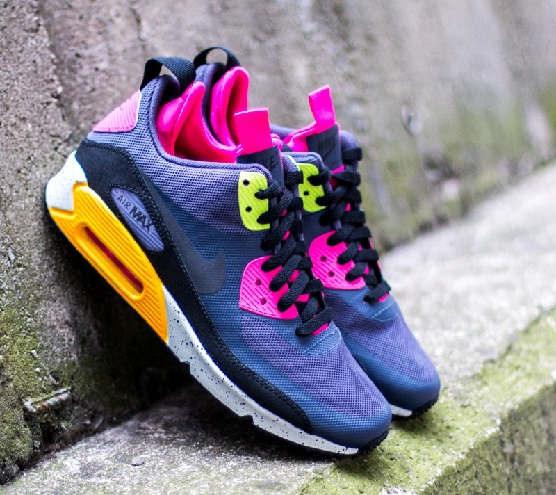 Nike Air Max 90 Sneaker Boot NS Gridiron Pink Force