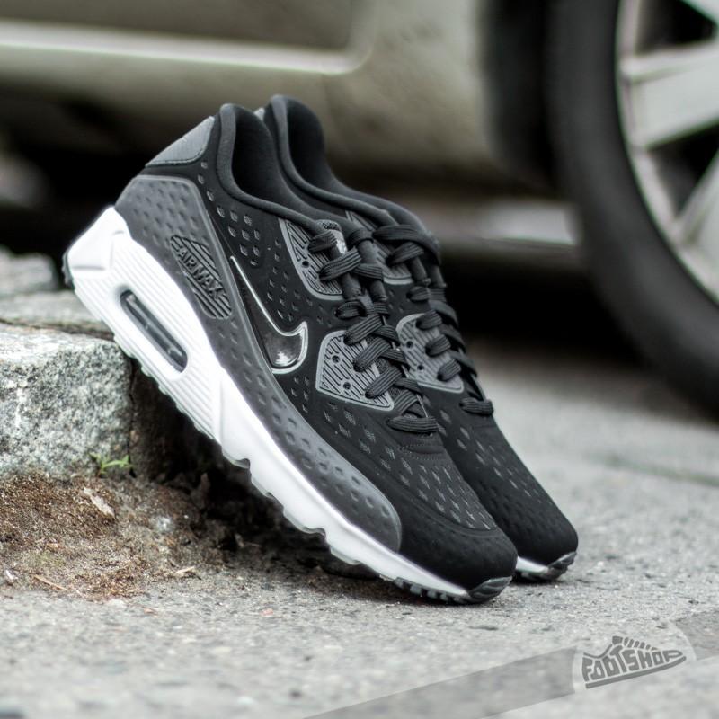 nike air max 90 ultra br - black / dark grey / white