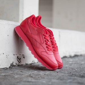 Reebok Classic Leather Solids Scarlet